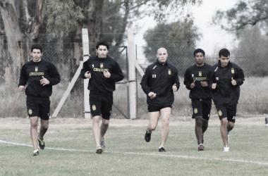 Los jugadores finalizaron los trabajos físicos y ahora se enfocarán en la pelota (Foto: Olimpo de Primera).