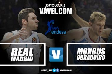 Madrid y Obradoiro batieron el récord de triples anotados en un partido de ACB en la primera vuelta con 36 conversiones | Montaje: Santiago Arxé Carbona (VAVEL)
