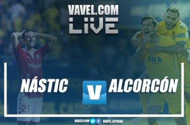 LIVE Nástic vs Alcorcón. | Montaje: VAVEL