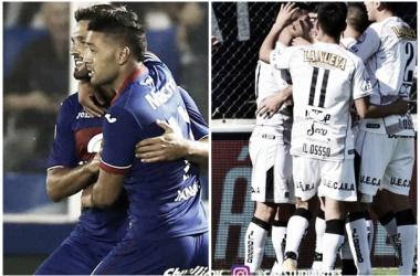 Tigre vs Estudiantes BA (Fotomontaje).