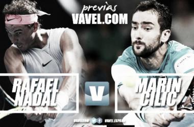 Previa Rafael Nadal - Marin Cilic: choque de estilos buscando la semifinal