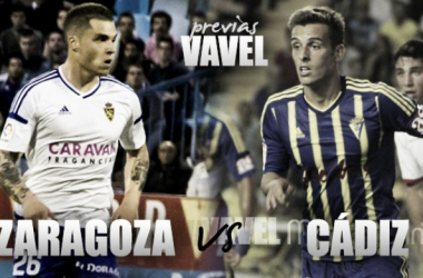 Previa Real Zaragoza - Cádiz: duelo de históricos