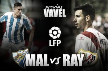 Málaga CF - Rayo Vallecano: jugar sin martirizarse