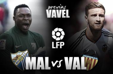 Previa Málaga CF-Valencia. Foto: VAVEL.com
