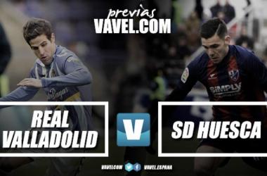 Previa Real Valladolid - Huesca: defender Zorrilla ante el líder