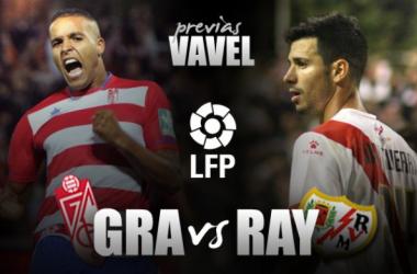 Granada CF - Rayo Vallecano: huir de la quema