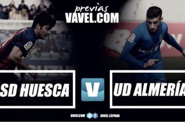 Previa SD Huesca - UD Almería: los rojiblancos quieren rascar de El Alcoraz