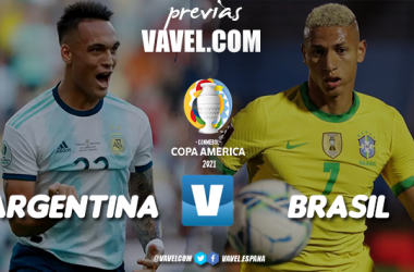 Previa Argentina - Brasil: por la gloria