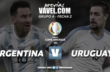 Argentina–Uruguay: El clásico del Río de la Plata en la fecha 2
