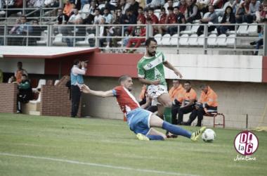 El Astorga cayó en Algeciras por la mínima.   Foto: José Mendoza (VAVEL-@D_lagrada).