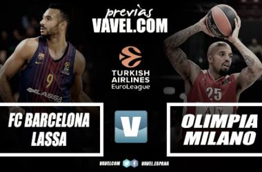 Previa Barça Lassa - Olimpia Milan:el último clavo ardiente
