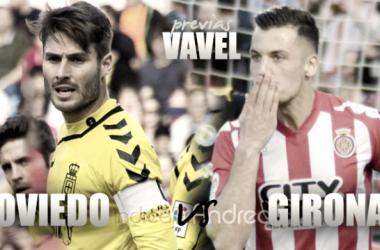 Fotomontaje previa Real Oviedo - Girona FC (VAVEL)