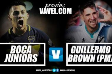 Previa Boca - Guillermo Brown (PM): un duelo con poca historia
