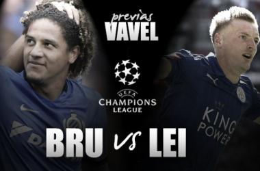 Club Brujas - Leicester City. Foto: Edición VAVEL.