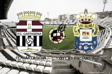 FC Cartagena-Las Palmas Atlético: cruce de rachas este domingo en el Municipal Cartagonova