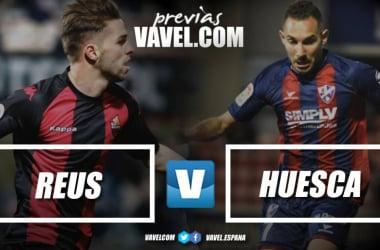 Previa CF Reus - SD Huesca: el líder visita el Estadi