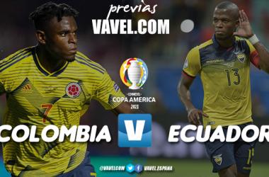 Previa Colombia vs Ecuador: inicia la ilusión