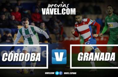 Previa Córdoba CF - Granada CF: volver a vencer para recuperar sensaciones