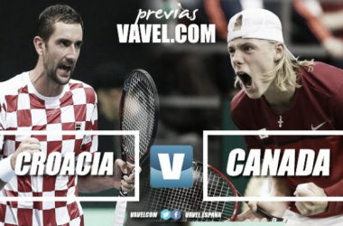 Copa Davis 2018. Previa Croacia-Canadá: eliminatoria igualada | Fotomontaje: Diego Blanco - VAVEL