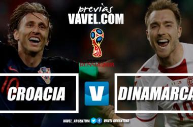 Croatas y daneses, con un mismo objetivo, los cuartos de final (Foto: VAVEL)