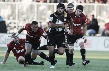 Charlie Ngatai, emblema de Chiefs, portará el brazalete en Waikato. Por la segunda fecha, los de la isla Norte cayeron ante los de la Sur por 45-23, en Christchurch. Crédito: Radio NZ.