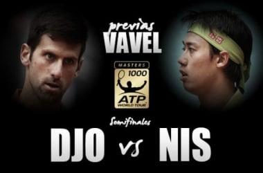 Novak Djokovic - Kei Nishikori: de nuevo en semifinales, una semana después