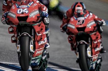 Andrea Dovizioso y Danilo Petrucci / Foto: @ducati