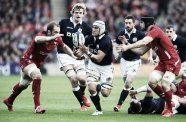 Foto: el año pasado, en Murrayfield, Gales triunfó por 26 a 23. ¿Habrá revancha escocesa en suelo galés? Crédito: Bleacher Report