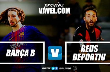 Previa FC Barcelona B - CF Reus: el derbi más desigualado