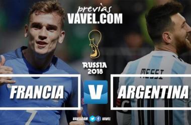 Previa Francia - Argentina: dos aspirantes cara a cara en octavos