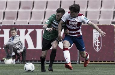 Granada CF B - FC Cartagena: partido vibrante por la zona alta