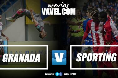 Previa Granada CF - Real Sporting: nuevo técnico, primera prueba