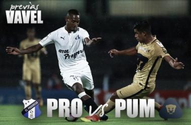 Previa Honduras Progreso - Pumas: por el pase a la siguiente ronda