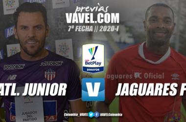 Previa Atlético Junior vs Jaguares de Córdoba: ambos con la necesidad de ganar.