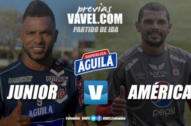 Previa Junior de Barranquilla vs. América de Cali: el duelo que acabará con cinco meses sin el FPC