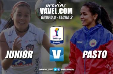 Previa Junior vs. Pasto: dos equipos que buscan acomodarse en la Liga Femenina