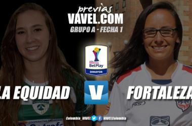 Previa La Equidad vs. Fortaleza: viejos conocidos por un debut exitoso en la Liga Femenina