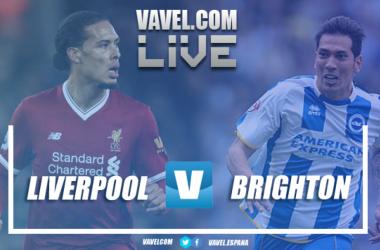 Liverpool y Brighton, en busca de la victoria en el último partido de liga | Foto: Romer Pérez