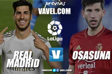 Previa Real Madrid vs Osasuna: el Madrid no 'tira' LaLiga
