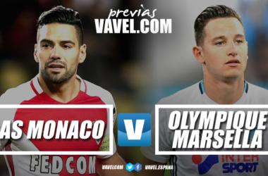 Previa Mónaco - Marsella: partido por la Champions