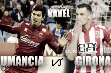 Previa CD Numancia - Girona FC: A romper la rachaFotomontaje: VAVEL.com
