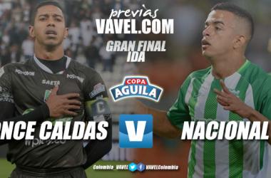 Previa Once Caldas vs Atlético Nacional: duelo inédito por la Copa Águila