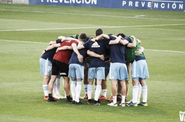 El Real Zaragoza buscará la primera victoria a domicilio de la temporada. Imagen: Andrea Royo