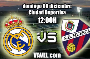 Real Madrid C - SD Huesca: duelo por escalar posiciones