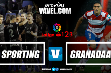 Previa Real Sporting de Gijón - Granada CF: mucho más que tres puntos en juego