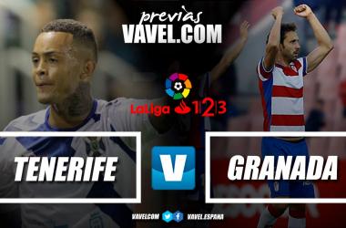 Previa CD Tenerife - Granada CF: terminar el año con una victoria