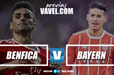 Previa Benfica – Bayern Múnich: el campeón alemán visita Lisboa con la intención de comenzar con el pie derecho el sueño europeo