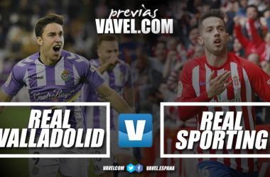 Previa Valladolid - Sporting: no está permitido fallar