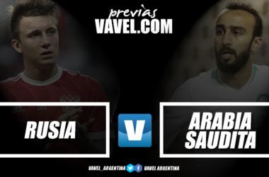 Rusia vs Arabia Saudita: por una inauguración triunfal