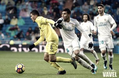 Casemiro y Fornals durante el encuentro en el Bernabéu de 2018   Foto: Daniel Nieto (VAVEL)